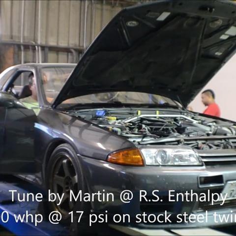 R32 GTR tune by Martin @ R.S. Enthalpy.#r32 #r33 #r32 #gtr #skyline #tune #enthalpy #nissan #s13 #s14 #turbobygarrett